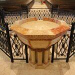 אמבט טבילה, כנסיית סיינט פול, ארה״ב