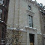 Safra Synagogue, New York. Extra large sculpted elements.