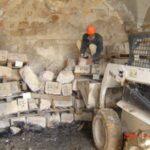 ממילא, ירושלים. אתור אבן שאוחסנה, להרכבה מחדש.