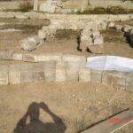 Mamila, Jerusalem. Disassembled stone layout, according to assembly and restoration plan.