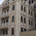 Waldorf Astoria Hotel, Jerusalem. Restoration of parts of the old face and adjustment to exist.